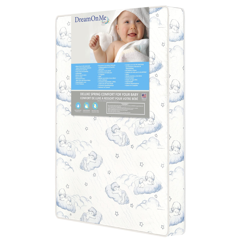 """A Quoi Ressemble Une Punaise De Lit Agréable Dream Me 3"""" Spring Coil Mini Portable Crib Mattress Walmart"""