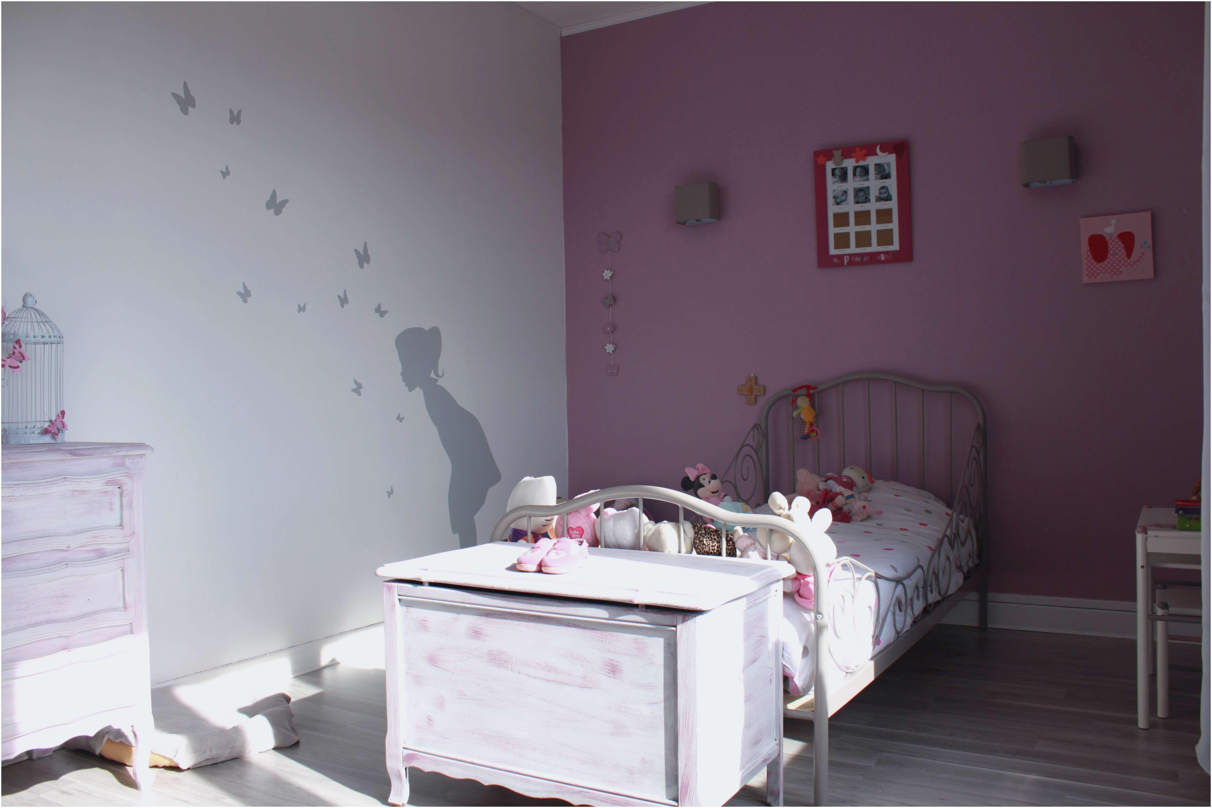 Accessoire Lit Bébé Joli Elégant Chambre Bébé Fille Gris Et Rose Beau Parc B C3 A9b C3 A9