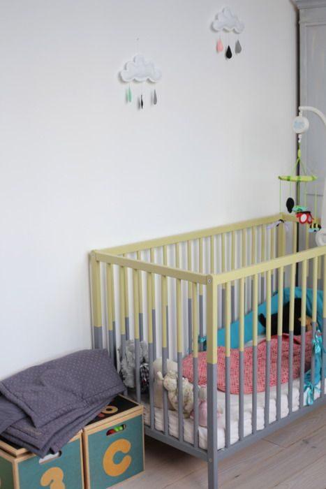 Alinea Lit Bebe De Luxe Un Lit De Bébé En 2 Coloris In Pinterest