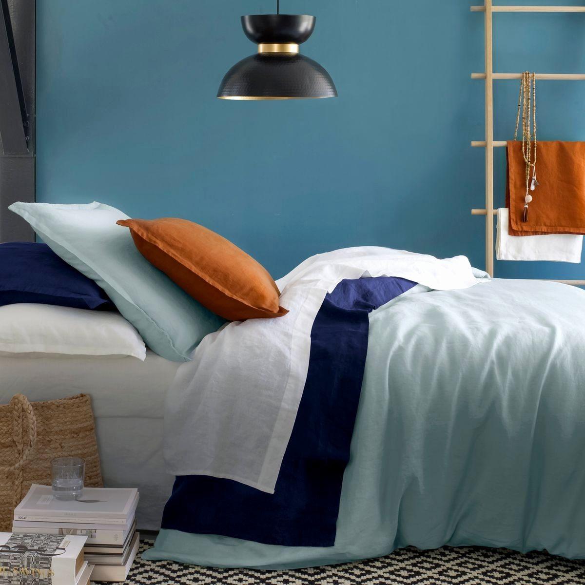 amazon linge de lit inspirant ampm linge de lit nouveau. Black Bedroom Furniture Sets. Home Design Ideas