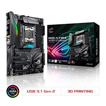 Amazon Lit Bebe Élégant Amazon asus Rog Strix X299 E Gaming Lga2066 Ddr4 M 2 Usb 3 1