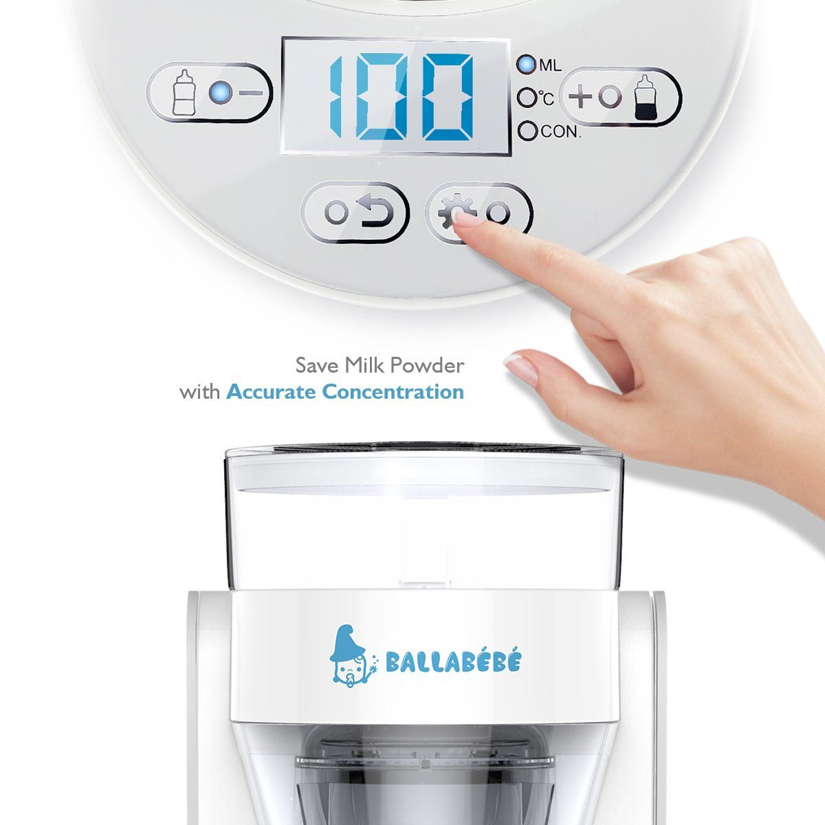 Amazon Lit Bebe Génial Amazon Balla Bébé M1 Auto Baby Milk Maker Instant Heating Baby