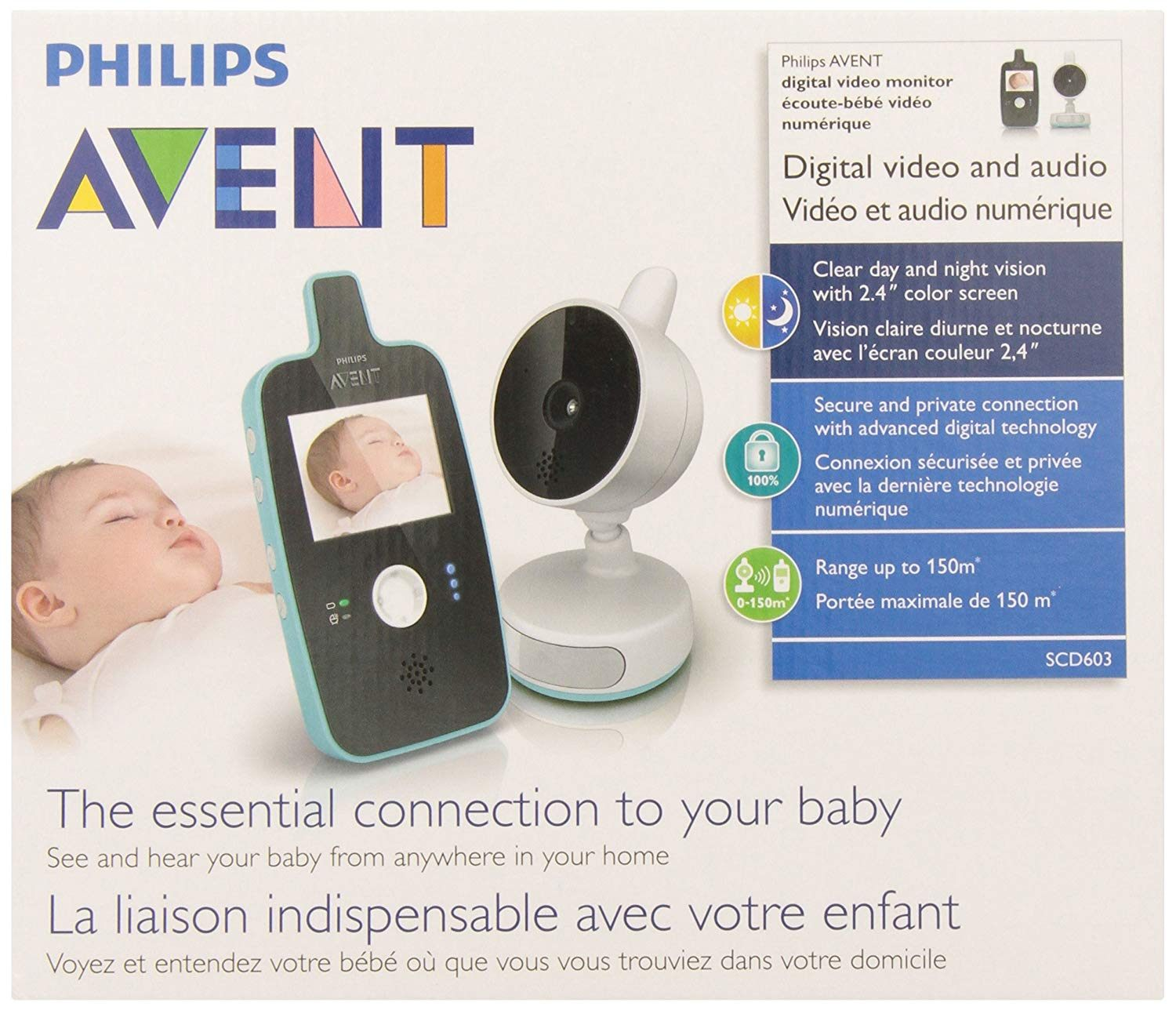 Amazon Lit Bebe Luxe Amazon Philips Avent Digital Video Baby Monitor with Night