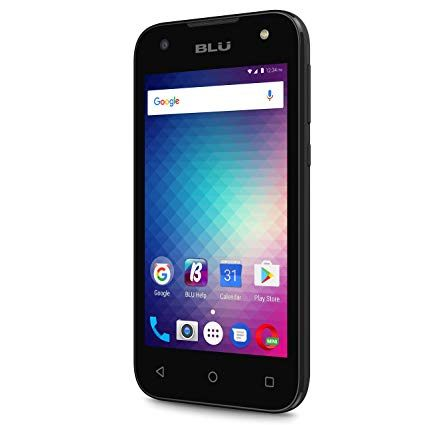 Amazon BLU Advance A4 Unlocked Dual Sim Smartphone Black