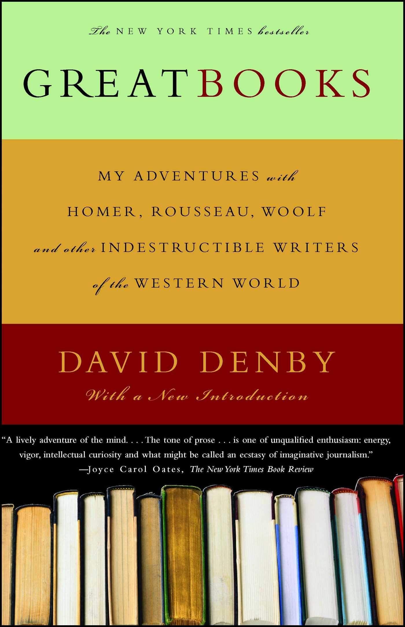 Amazon tour De Lit Unique Great Books David Denby Amazon Books