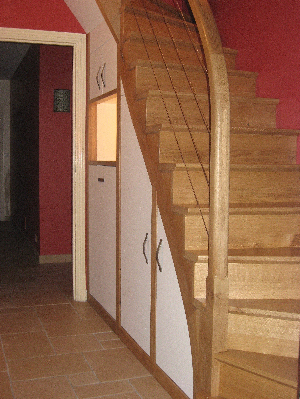 Aménagement sous Lit Mezzanine Agréable Meuble sous Escalier
