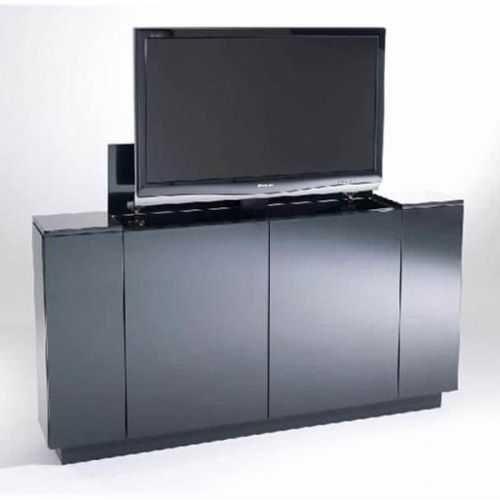Armoire Lit Escamotable Canapé Intégré Élégant 24 Erstaunlich Meuble Tv Motorisé Escamotable Ideen Bullmotos