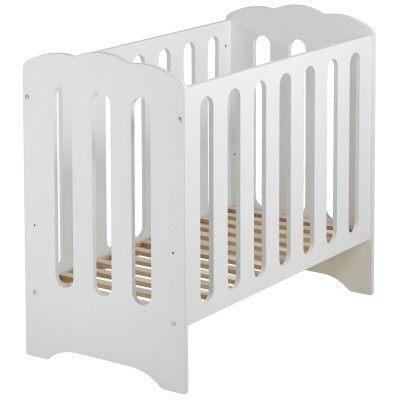 Barriere De Lit Enfant Le Luxe Mini Lit Et Matelas Bébé Nuage Blanc 50 X 100 Cm
