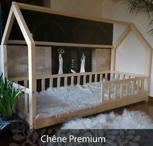 Barriere De Lit Pour Enfant Impressionnant 👍 Mon Lit Cabane Lit Pour Enfants Lit Cabane Avec Barri¨re Chªne