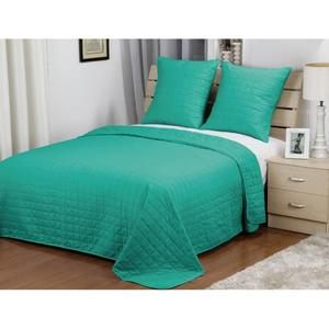Couvre lit turquoise Achat Vente Couvre lit turquoise pas cher