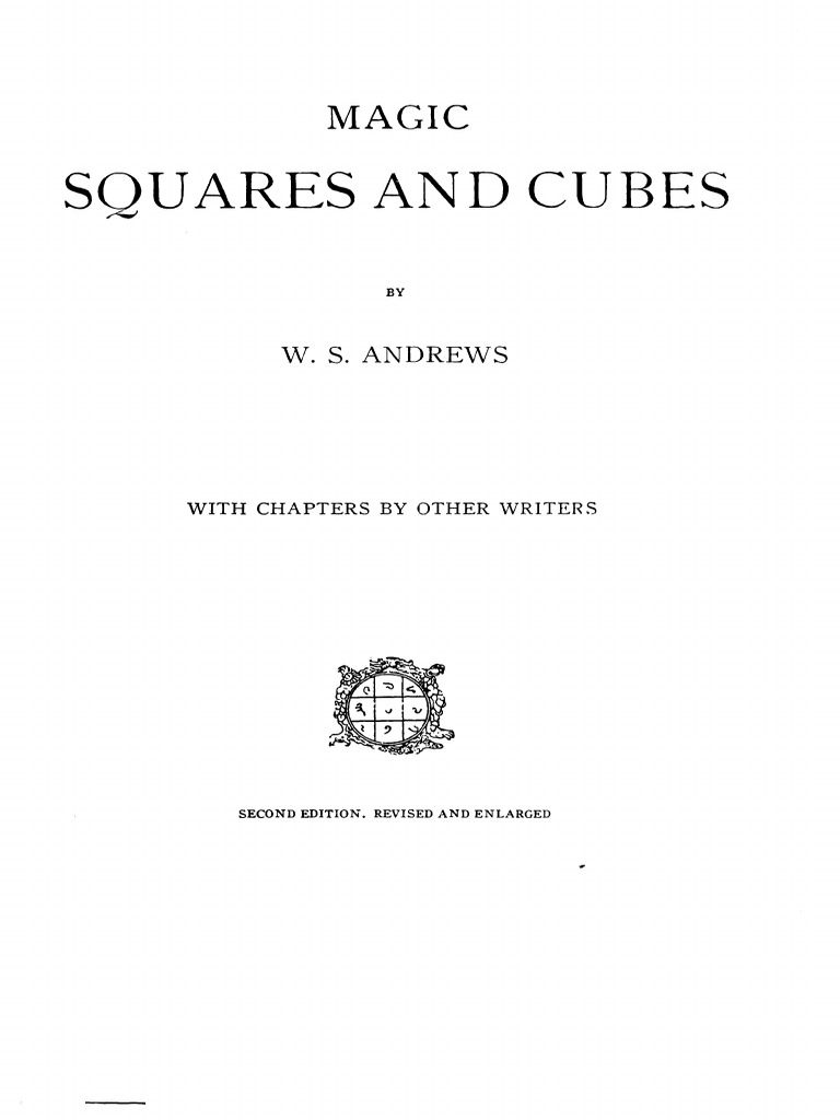 But Lits Superposés Magnifique W Symes andrews Magic Squares & Cubes