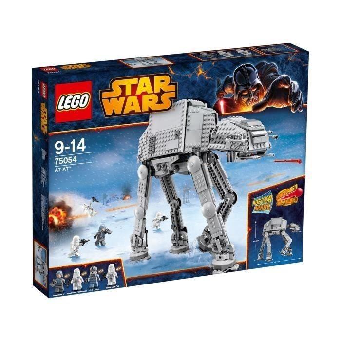 C Discount Lit Enfant Meilleur De Lego Star Wars At At™ Achat Vente Assemblage Construction