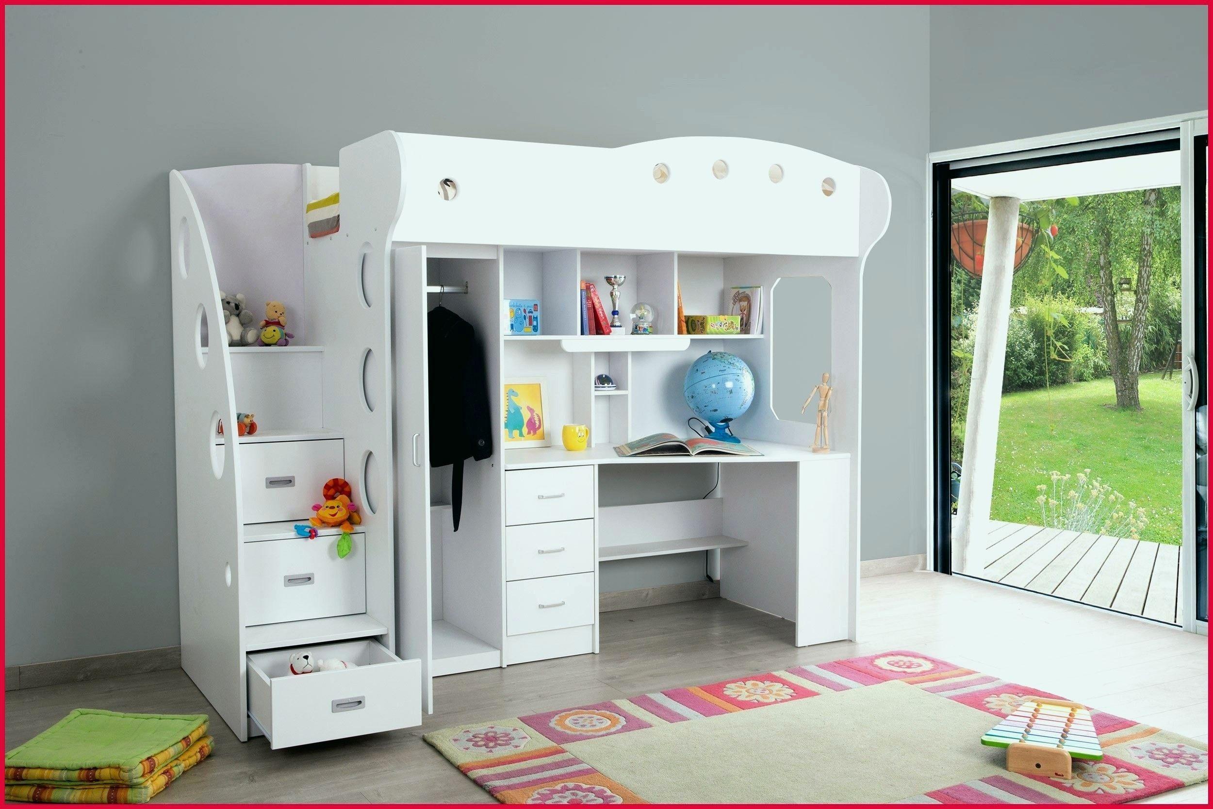 Cabane Lit Enfant De Luxe Armoire originale Pour Fille Meuble Pour Chambre Fille Nouveau
