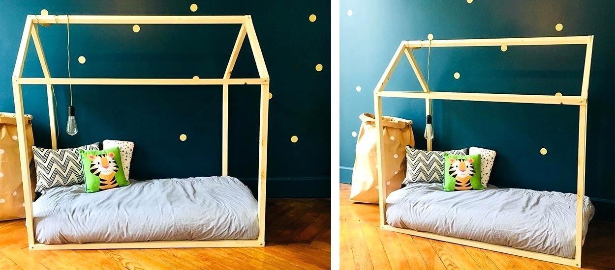 Cabane Lit Pour Enfant Beau Faire Un Lit Cabane Design A La Maison Faire Un Lit Cabane Destinac
