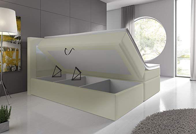 Cadre De Lit 160×200 Sans sommier Agréable Wohnen Luxus Venedig Lift Supreme Lit  sommier Tapissier Avec