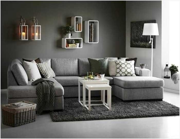Canapé D Angle Lit Nouveau Canapé Cuir Gris Convertible Obtenez Une Impression Minimaliste