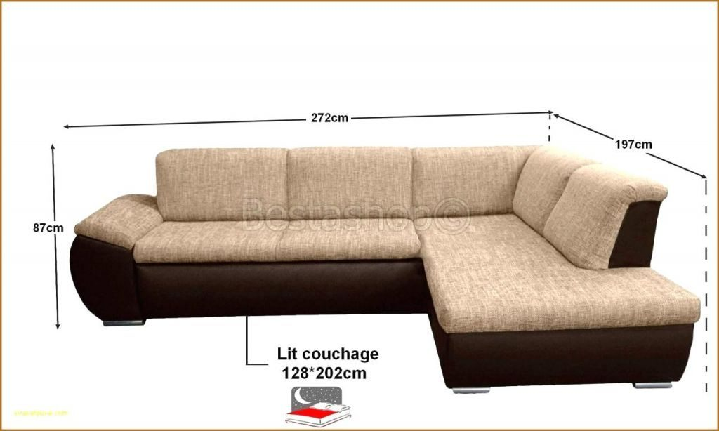 Canapé Lit 140×190 Belle Confort Bultex Canapé Zochrim