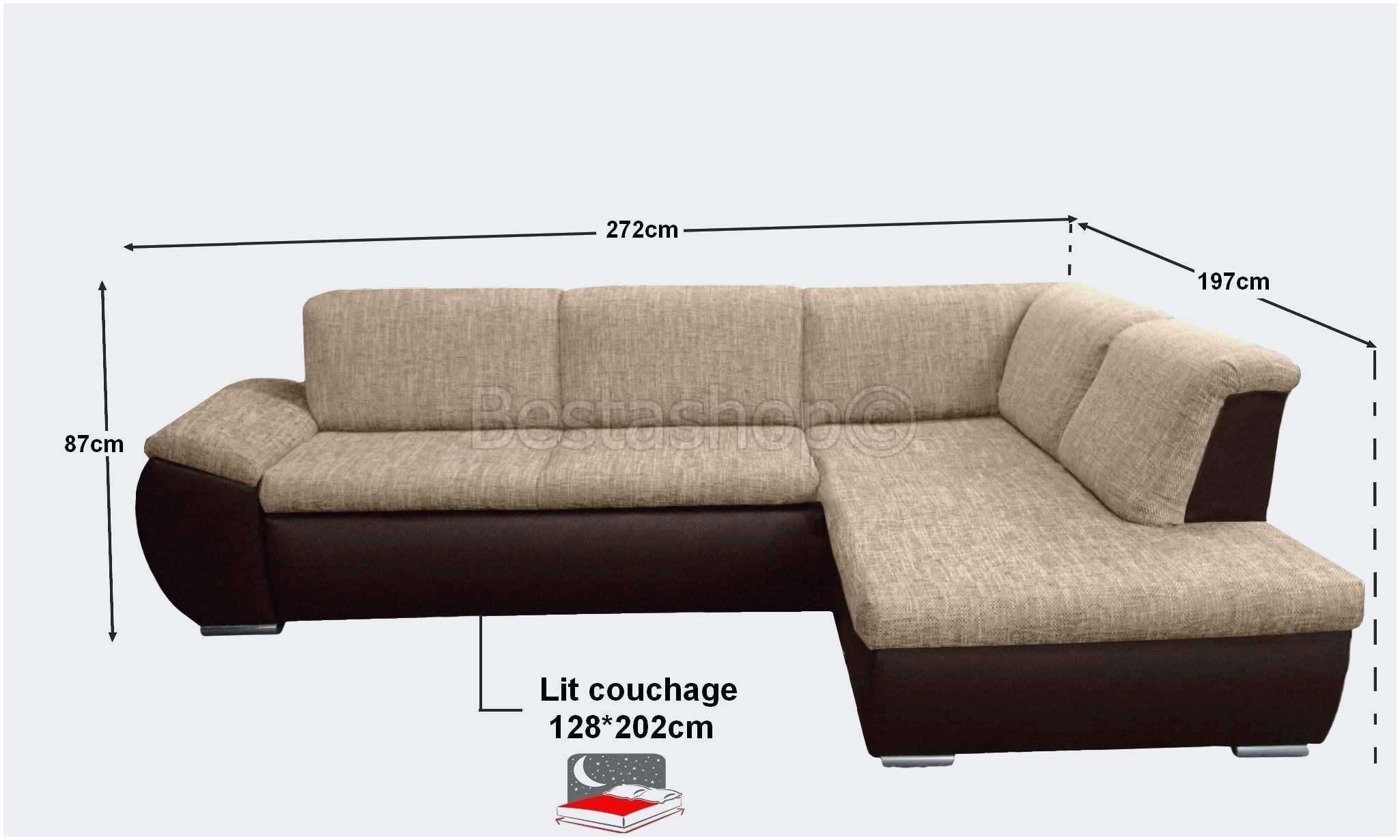Canapé Lit En Cuir Beau Elégant Canapé Angle Habitat Luxe S Canap Simili Cuir Marron 27 C3