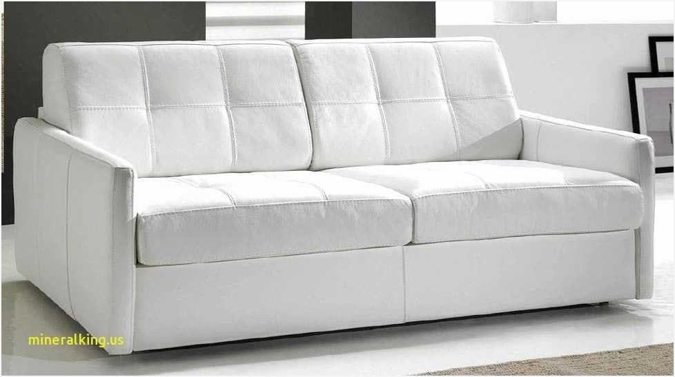 Canapé Lit En Cuir Luxe ☔ 43 Canapé Cuir Et Tissu