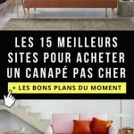 Canapé Lit Pas Cher Joli ♜ 40 Canapé Convertible Cdiscount