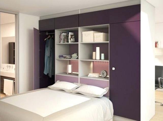 Chambre Avec Lit Mezzanine De Luxe Lit Penderie