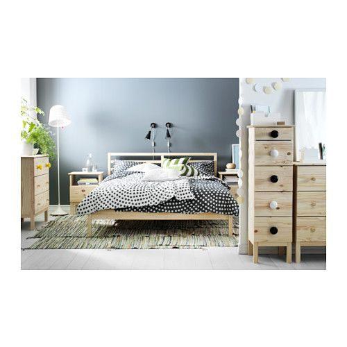 TARVA Cadre de lit pin