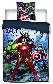 Couette Lit 1 Place Joli Avengers Parure De Lit Housse De Couette Taie D oreiller