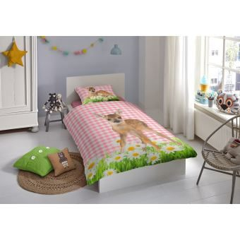 Couette Lit Enfant De Luxe Good Morning Enfant Housse De Couette Set 5967 P Bambi Multi Cotton