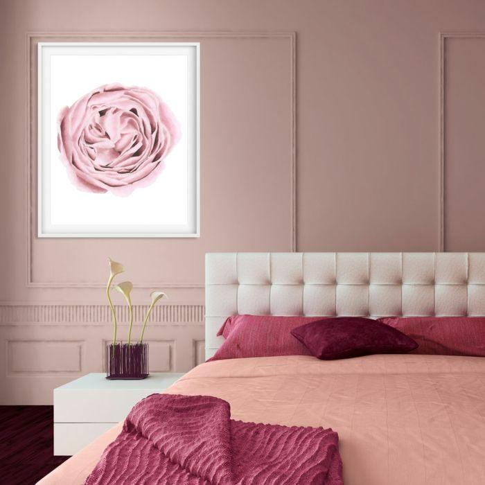 Coussin De Tete De Lit Bel ▷ 1001 Idées Pour Une Chambre Rose Poudré Les Intérieurs 2018