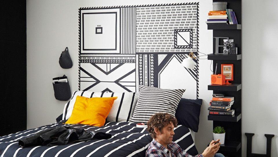 Decoration Mur Tete De Lit Joli 10 Idées Pour Une Tªte De Lit Déco Dans La Chambre M6 Deco