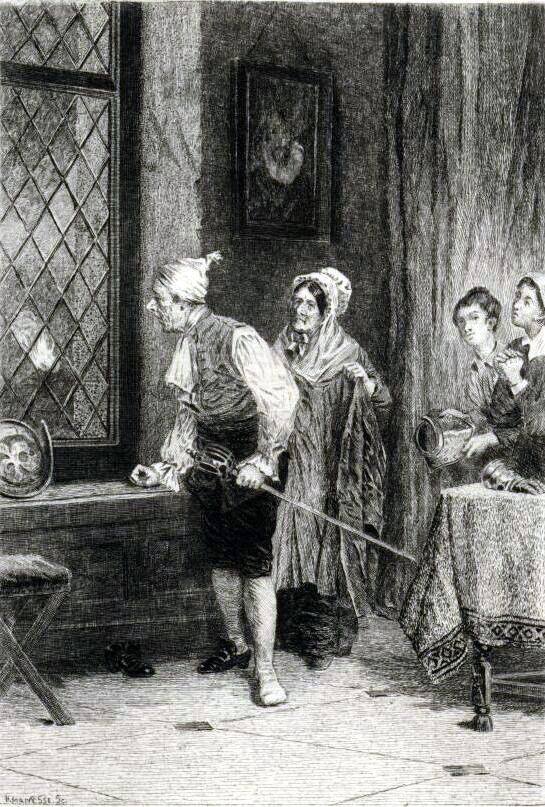Dejection Punaise De Lit Charmant the Antiquary by Sir Walter Scott