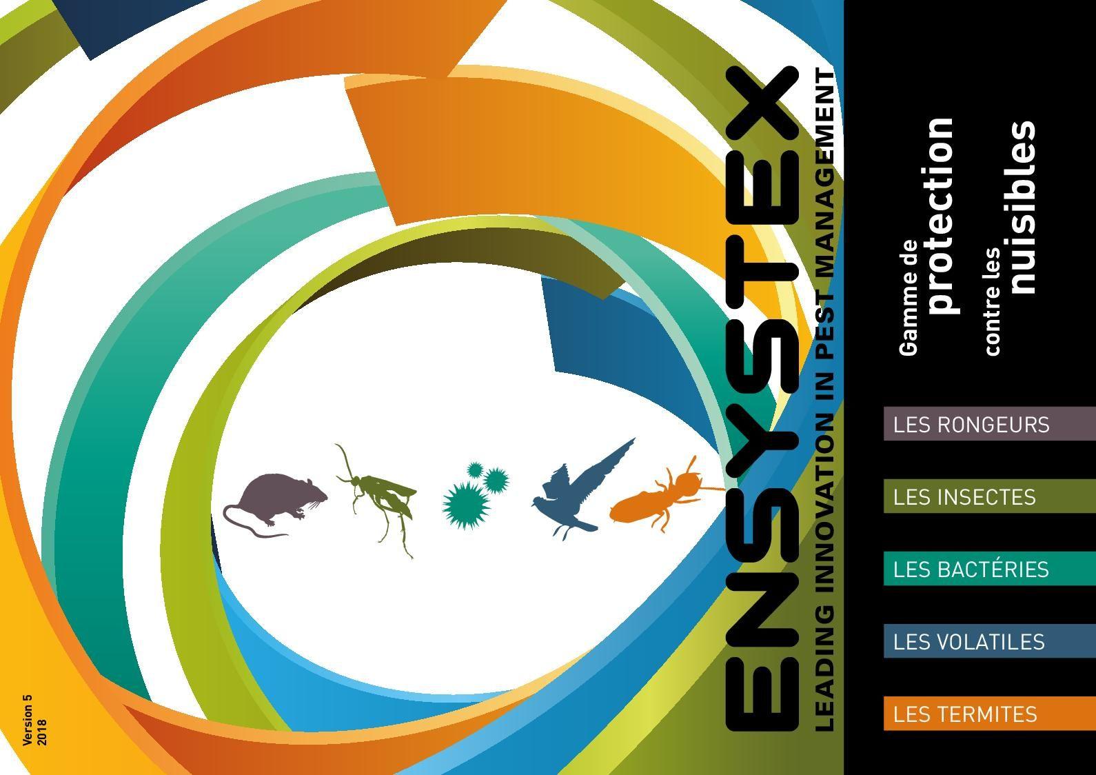 Dejection Punaise De Lit Inspiré Calaméo Ensystex Europe Catalogue 2018