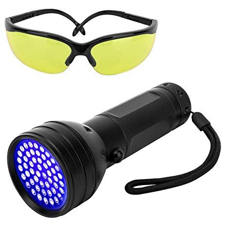 Detecteur Punaise De Lit Belle Pawaboo Lampe De Poche Uv Blacklight 51 Led Ultraviolet 395nm Lampe