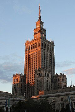 Dimension Lit Deux Places Meilleur De Palace Of Culture and Science