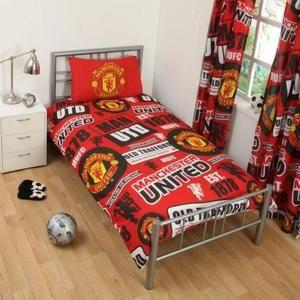 Drap De Lit Pas Cher Magnifique Parure De Lit Manchester United Achat Vente Pas Cher