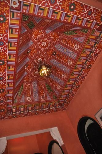 Drap Lit 2 Places De Luxe ОтеРь Riad Haj Thami Марракеш Бронирование отзывы фото — Туристер Ру