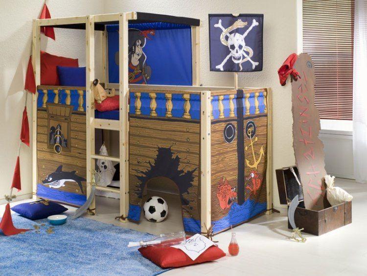 échelle Lit Superposé Belle Lasten Ohjaamo Sängyssä 22 Luovassa Ideassa