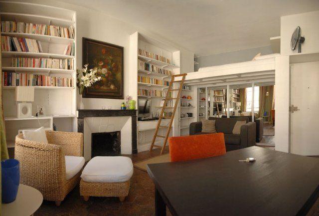 échelle Lit Superposé Charmant Mezzanine Bed Dla Rozwoju Małego Mieszkania