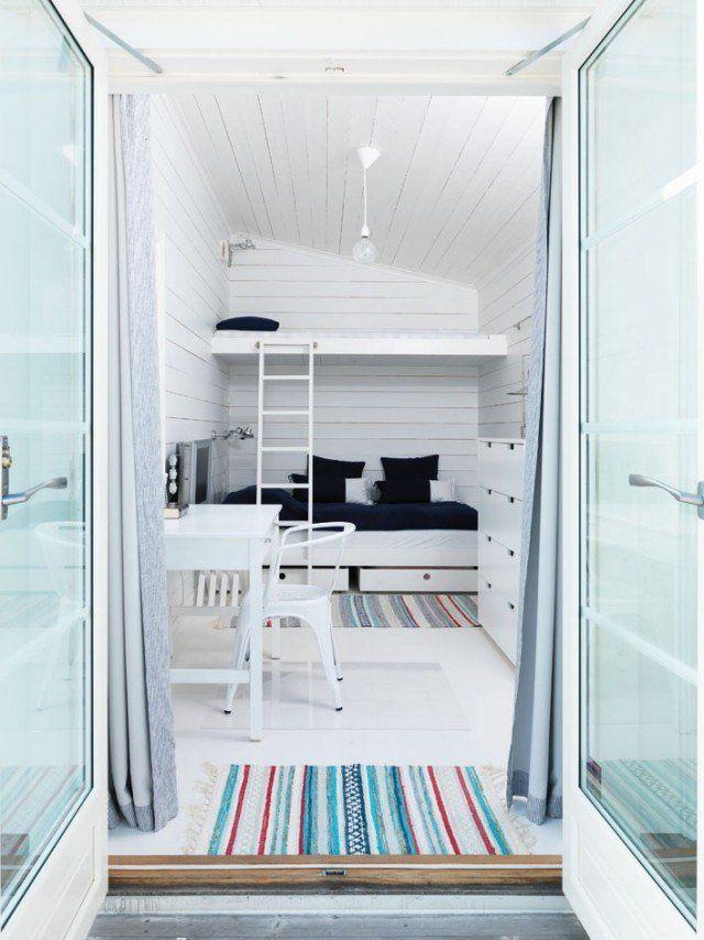échelle Lit Superposé Douce Mezzanine Bed Dla Rozwoju Małego Mieszkania
