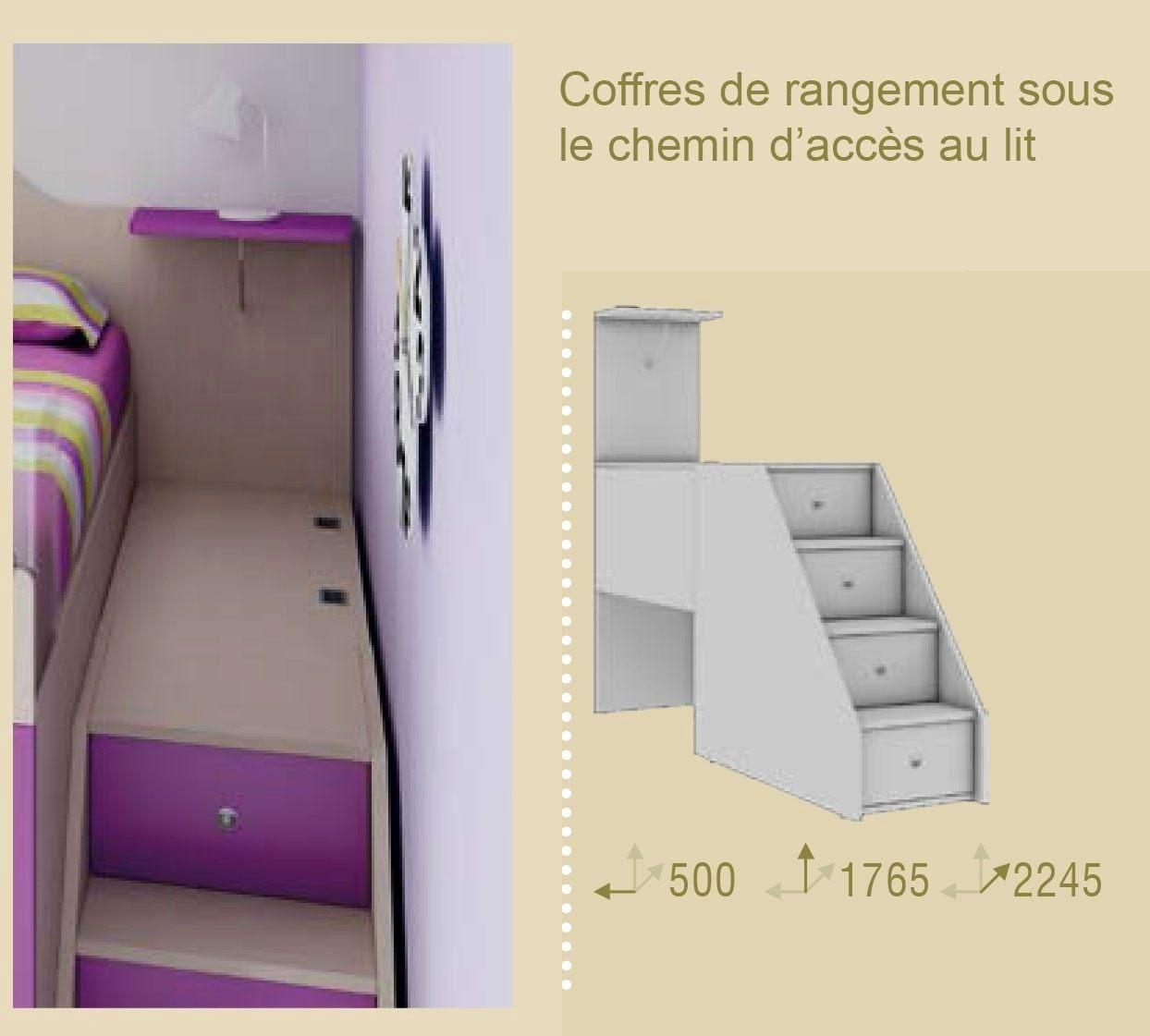 Echelle Pour Lit Mezzanine Bel Escalier Avec Rangement Inspirant Lit Avec Escalier Rangement Lit