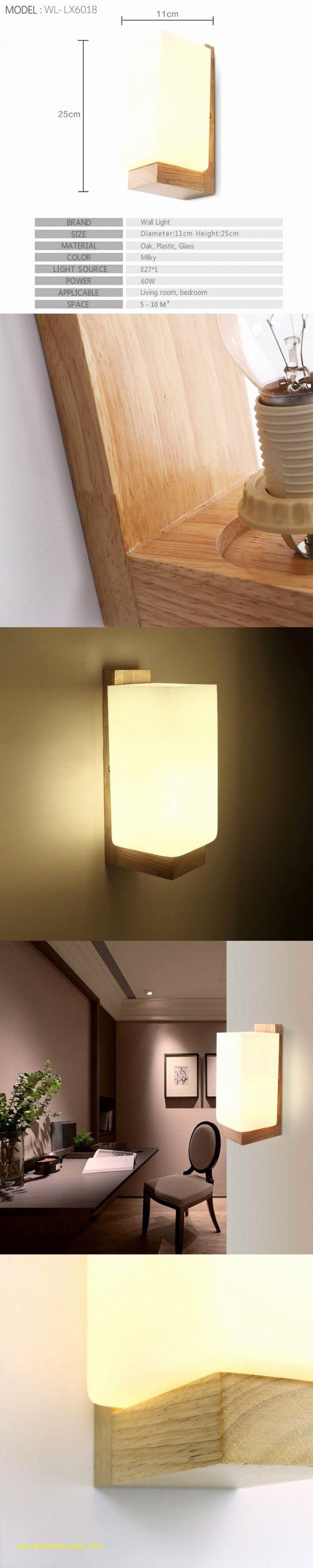 Eclairage Tete De Lit Led Frais Luminaire Interieur Design La Confortable Lampe Bois Design