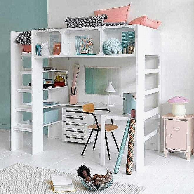 Enfant Lit Fille Charmant Chambre Petite Fille Design Lit Enfant Pin Banquette Lit 0d Simple