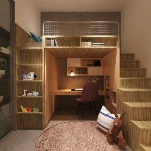 Enfant Lit Mezzanine Beau Construire Un Lit Mezzanine Construire Lit Mezzanine Free Meuble En