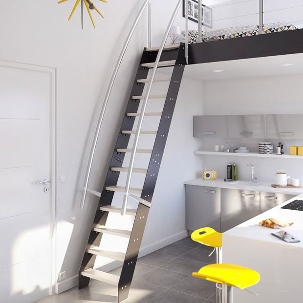 Escalier Lit Mezzanine Le Luxe Bien Choisir Votre Escalier En Bois