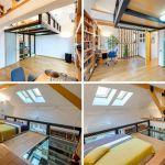 Escalier Pour Lit Mezzanine Bel Lit Mezzanine Avec Rangement Adulte Meilleur De 20 Haut Lit