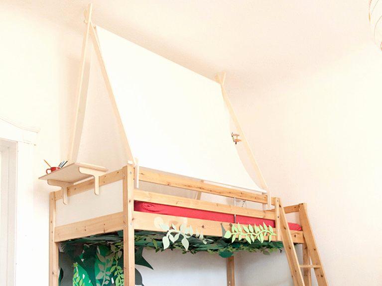 Fabriquer Lit Mezzanine Génial Lit Mezzanine Escamotable Luxe Super Escalier Télescopique En
