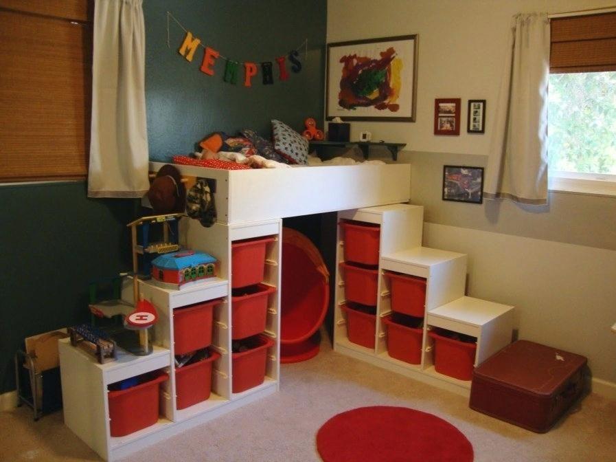 Lit Mezzanine 2 Places Idacale Dans Une Chambre Lit Mezzanine 2