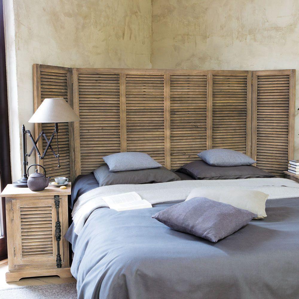 Fabriquer Tete De Lit Bois Inspiré Bout Chambres Alinea Lit Chevet Chambre Design sorte Bois Reine Des