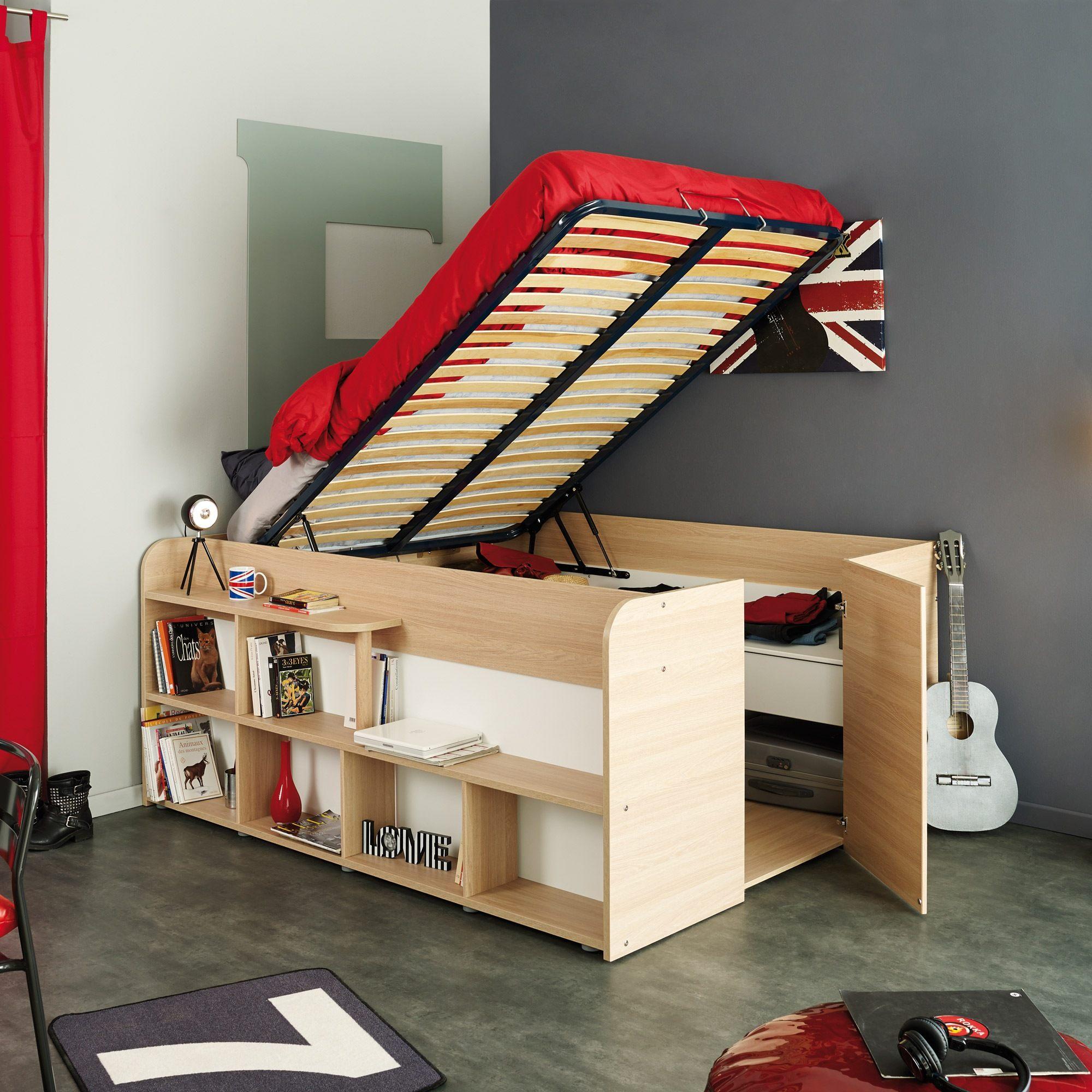 Fabriquer Un Lit Avec Rangement Luxe Lits 140 Structure De Lit