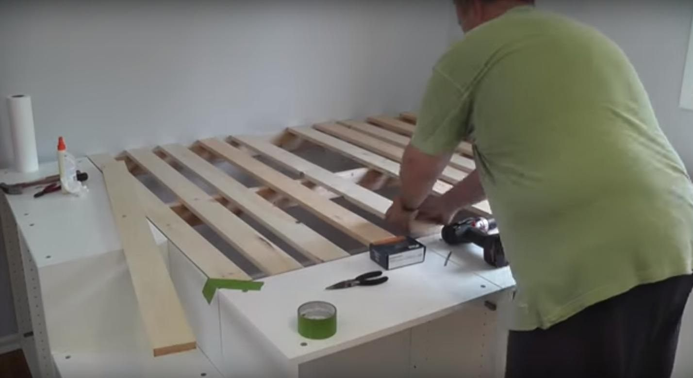 Fabriquer Un Lit Avec Rangement Frais Fabriquer Lit Avec Rangement Ikea